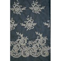Wholesale Ivory   Embroidery Lace Fabric for Wedding Dress Hot Sale from china suppliers