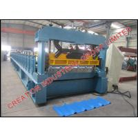 Buy cheap Box Profile Metal Roof Panel Roll Forming Machine for Roof Cladding Project of House from wholesalers