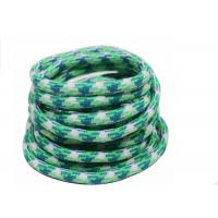 Wholesale 100% Polyester Elastic Cord String Colorful Braided Rope Logo Printed from china suppliers