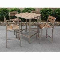 Wholesale Fashionable bar table set, easy to assemble, lightweight aluminum tube, 1.7/1.8mm frame th from china suppliers
