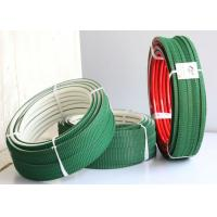Wholesale White PU polyurethane Super Grip Belt with Top green PVC Vee Corrugated belt from china suppliers
