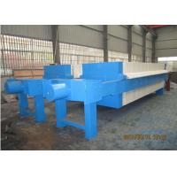 Wholesale Hydraulic plate and frame Filter Press in DAF pretreatment for seawater RO plant, 2000L 1250 Mm Plate Size from china suppliers