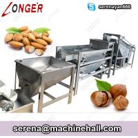 Buy cheap Small Capacity Hazelnut Dehulling Drying Machine |Chestnut Sheller Dryer Machinery Plant in China from wholesalers