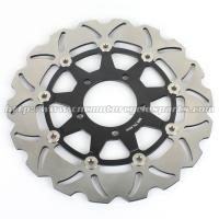 Wholesale Aluminum Motorcycle Brake Disc Rotor Brake Kawasaki Z 1000 ZX10R CNC Milling from china suppliers