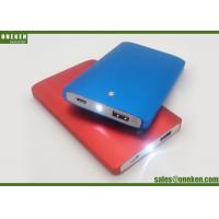 Wholesale Smart  Lamp Led Aluminum Alloy P22 4000mAh Power Bank Gold / Silver / Blue from china suppliers