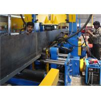 Buy cheap 3 In 1 Combined H Beam Automatic Production Line Assembling , Welding , Straightening from wholesalers