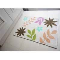 Wholesale Square printed multi coloured Non Slip Door Mats , decorative door mats indoor from china suppliers