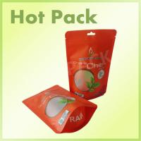 Wholesale Custom Made Food Stand Up Zipper Pouch Bags , Flexible Packaging Plastic Bags from china suppliers