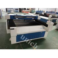 Wholesale 1300*2500mm blue and white color co2 laser engraving machine for MDF, acrylic, plwood from china suppliers