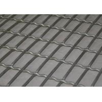 Wholesale Lock Crimped Weave Stainless Screen Mesh For Pig Raising , Corrosion Resistant from china suppliers