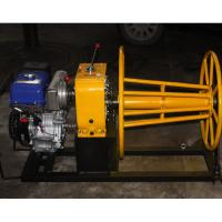 Wholesale 5 Ton wire rope winch wire winding machine with Yamaha gasoline engine from china suppliers