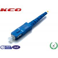 Wholesale Single Mode Fiber Optic Connectors / Fiber Optic SC Connector Pre Assemly from china suppliers
