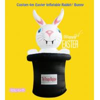 Wholesale Oxford Outdoor OEM 4m Cute Easter Inflatable Bunny/ Rabbit For Decoration from china suppliers