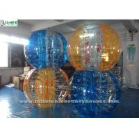 Wholesale Custom Party Activities TPU Zorb Soccer Ball Inflatable Bumper Ball for Kids from china suppliers