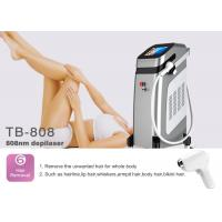 Buy cheap 10000000 Shots Handle Life 808nm Diode Laser Hair Removal Machine For Face / Full Body from wholesalers