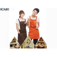 Wholesale Personalised Kitchen Custom Cooking Aprons Embroidery With Twill Fabric from china suppliers