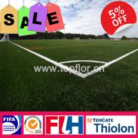 Quality 50mm Fibrillated Soccer Grass for sale