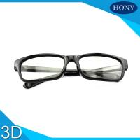 Quality 3D Glasses For Movies With ABS Frame Thicknes Lens 0.19mm-0.38mm for sale