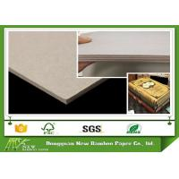 Wholesale Grey Laminated Book Binding Cover Board , 1.5mm Book Boards For Binding from china suppliers