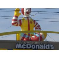 Quality Promotional Inflatable Cartoon Characters , Inflatable McDonald Character for sale