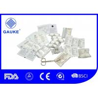 Wholesale 4 Chambers First Aid Trauma Kit , Industrial Auto First Aid Kit For Vehicles from china suppliers