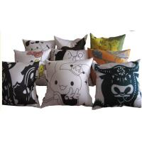 Wholesale Creative Canvas Throw Pillows For Sleeping , Sublimation Printed Throw Pillow from china suppliers