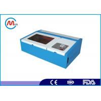 Wholesale 60w Co2 Portable Laser Engraving Machine , Water Cooling Glass Laser Engraver Machine from china suppliers