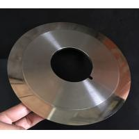 Wholesale Customized Cloth Cutting Knife , Slitting Carbon Paper Machine Round Cutting Blades from china suppliers
