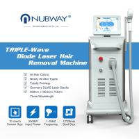 Buy cheap CE ISO approved all skin color available painless hair removal machine 755nm 808nm 1064nm diode laser from wholesalers