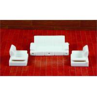 Wholesale Architectural Scale Model Home Furnishing 1:50 ABS Living Room Sofa  from china suppliers