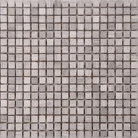 Wholesale Wood Grain Stone Mosaic Bathroom Sink Splashback Tiles , Bathroom Countertop Tile Morden Design from china suppliers