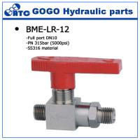 Wholesale High Pressure Stainless Steel Ball Valve With Locking Handle , 2 Npt Solid Modulating from china suppliers