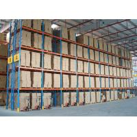 Wholesale Customize Metal Heavy Duty Storage Racks Timber Pipe CE / AS4084 Approval from china suppliers