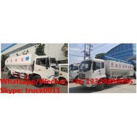 Wholesale High quality and best price dongfeng 4*2 RHD 190hp 8tons-12tons hydraulic livestock poultry feed delivery truck for sale from china suppliers