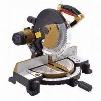 Wholesale 255mm miter saw, aluminum alloy base, 220V rated voltage from china suppliers