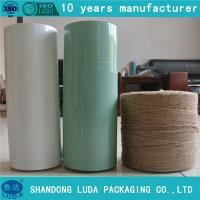 Wholesale Linear Low Density Polyethylene width bale wrapping film from china suppliers