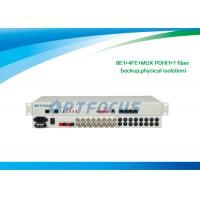Wholesale 2.5KG 10/100Mbps PDH Multiplexer 8 E1 DC24V DC-48V AC 220V 483X138X45 mm from china suppliers