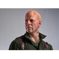 Wholesale Custom Made Vivid Artificial Lifelike Famous Wax Statues / Bruce Willis Wax Figure from china suppliers