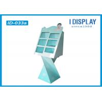 Wholesale Advertising Floor Cardboard Shop Display Stands For Cosmetic Walmart Approved from china suppliers