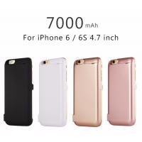 Wholesale Slim Back Clip 7000 MAh Cell Phone Battery Case For IPhone 6 / IPhone 6s from china suppliers
