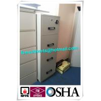 Wholesale 4 Drawer Fire Safe File Cabinet , Fire Resistant File Cabinet  For Office Data from china suppliers