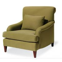 Buy cheap fabric lounge chair,single sofa,hotel sofa,casual chair,antique chair,oak wood sofa/chairLC-0026 from wholesalers