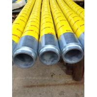 Rubber Material Concrete Placement Hose , Concrete Pump Tube With Excellent Wear Resistant