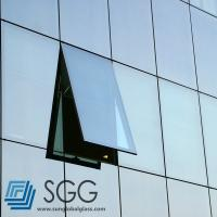 Quality curtain wall insulated glass sheet 6mm+6mm 8mm+8mm 10mm+10mm for sale