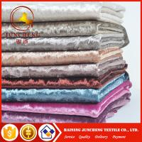 Wholesale 20 colors available elastic velvet fabric for women dress from china suppliers
