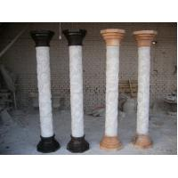 Wholesale White Natural Stone White Roman Pillar from china suppliers