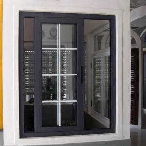 China Aluminium alloy sliding window grill design on sale