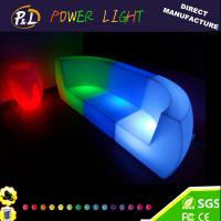 Wholesale Bar Event PE Plastic Led Sofa Set from china suppliers