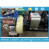 Wholesale 3T Diesel Cable Winch Puller for Stringing Wire Rope During Tower Erection from china suppliers