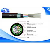 Wholesale GYTY53 Outdoor Fiber Optic Cable 24 Core Central Loose Tube Armored from china suppliers